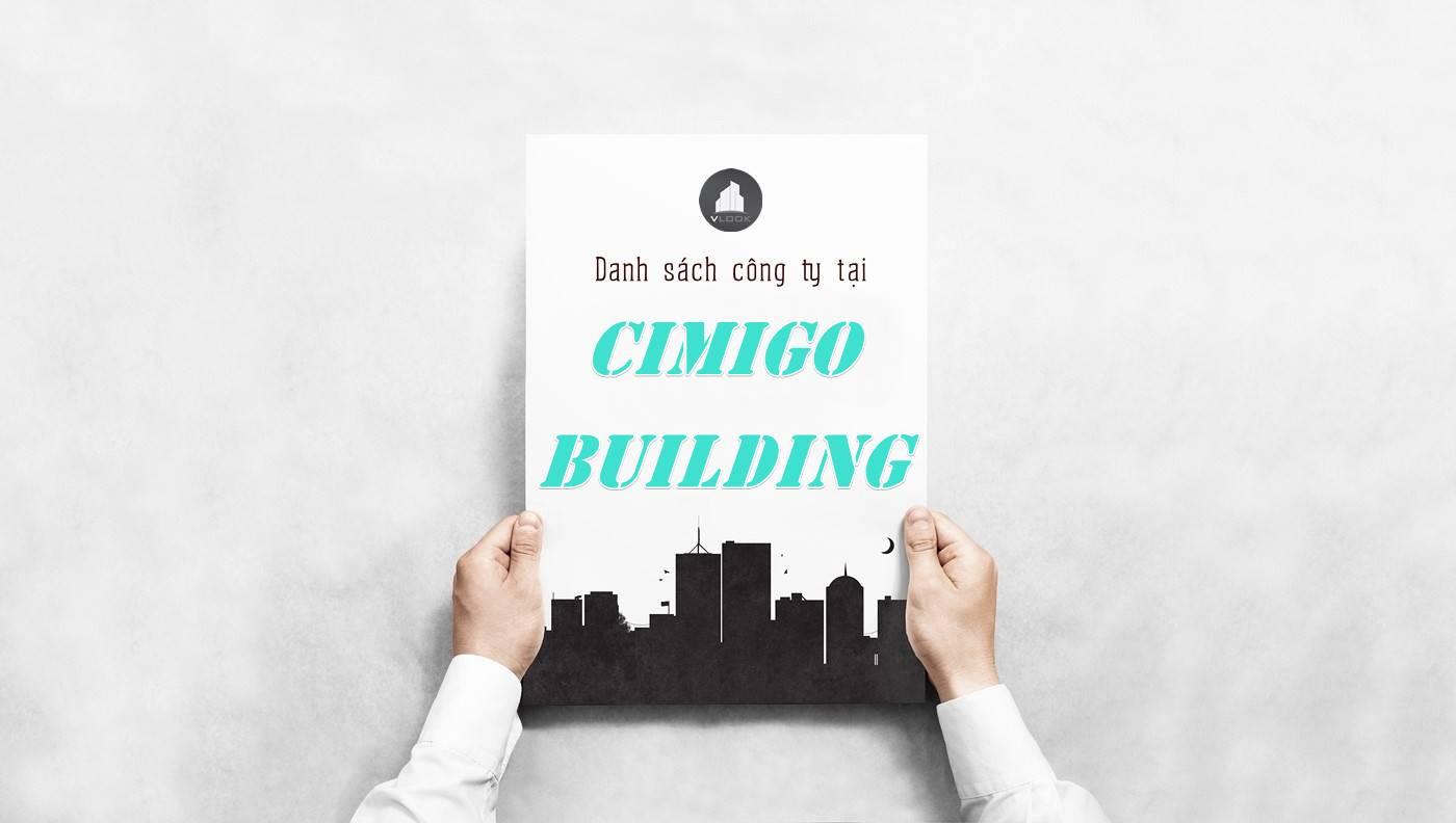 Danh sách công ty thuê văn phòng tại tòa nhà Cimigo Building, Quận Bình Thạnh