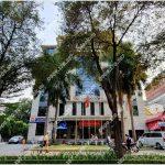 Mặt trước toàn cảnh oà cao ốc văn phòng cho thuê HMTC Savico Office Building, đường Pasteur quận 1, TP.HCM - vlook.vn