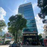 Mặt trước cao ốc cho thuê văn phòng Agrex Tower, Võ Văn Tần, Quận 3, TPHCM - vlook.vn