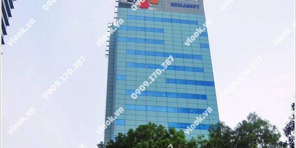 Cao ốc cho thuê văn phòng Gemadept Building (CJ Tower) Lê Thánh Tôn Quận 1 TPHCM - vlook.vn