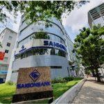 Cao ốc cho thuê văn phòng Saigon Bank Building, Hoàng Văn Thái, Quận 7, TPHCM - vlook.vn