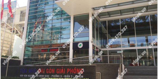Cao ốc văn phòng cho thuê Báo Sài Gòn Giải Phóng Building Nguyễn Thị Minh Khai Quận 3 - vlook.vn