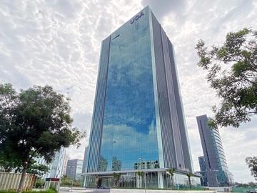 Cao ốc văn phòng cho thuê UOA Tower, Tân Trào, Quận 7, TPHCM - vlook.vn