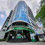 Mặt trước cao ốc cho thuê văn phòng Cao ốc 123, Võ Văn Tần, Quận 3, TPHCM - vlook.vn