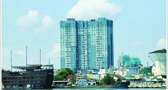 Cao ốc cho thuê văn phòng Copac Square Building Tôn Đản Quận 4 - vlook.vn