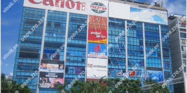 Cao ốc cho thuê văn phòng CT Plaza, Trường Sơn, Quận Tân Bình, TPHCM - vlook.vn
