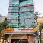 Mặt trước toàn cảnh oà cao ốc văn phòng cho thuê HT Building, đường D2, quận Bình Thạnh, TP.HCM - vlook.vn