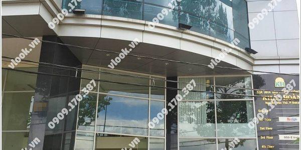 Cao ốc cho thuê văn phòng Khải Hoàn Building Nguyễn Văn Thủ, Phường Đa Kao, Quận 1, TP.HCM