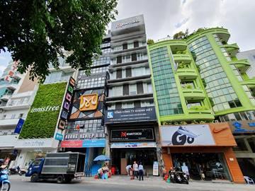 Cao ốc văn phòng cho thuê tòa nhà Khatoco Building, Hai Bà Trưng, Quận 3, TPHCM - vlook.vn