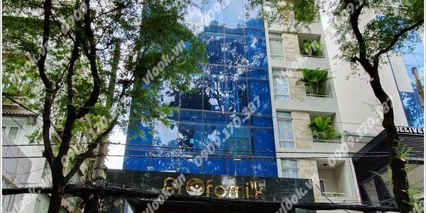 Cao ốc cho thuê văn phòng KM Plaza, Võ Văn Tần, Quận 3, TPHCM - vlook.vn