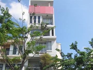 Cao ốc cho thuê văn phòng tòa nhà Nam Việt Building, Bến Vân Đồn, Quận 4, TPHCM - vlook.vn