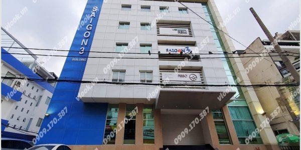 Cao ốc cho thuê văn phòng Saigon 3 Building, Nguyễn Văn Thủ, Quận 1, TPHCM - vlook.vn