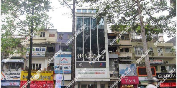 Cao ốc văn phòng cho cho thuê Han Building, 301 Trần Hưng Đạo, Phường Cô Giang, Quận 1, TP.HCM - vlook.vn