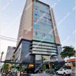 Mặt trước toàn cảnh oà cao ốc văn phòng cho thuê La Bonita, đường D2, quận Bình Thạnh, TP.HCM - vlook.vn