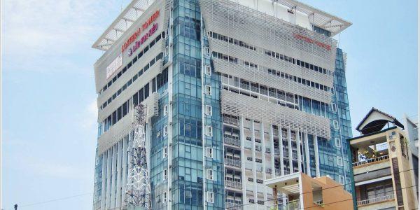 Cao ốc cho thuê văn phòng Lottery Tower Trần Nhân Tôn Quận 5 - vlook.vn
