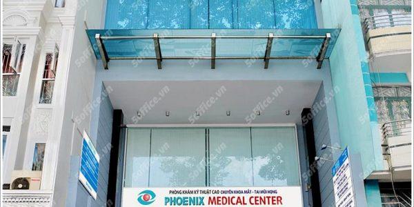 Cao ốc cho thuê văn phòng Phoenix Tower, Phước Hưng, Quận 5, TPHCM - vlook.vn