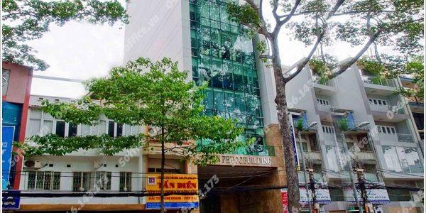 Cao ốc cho thuê văn phòng Tiến Phước Building, Trần Hưng Đạo, Quận 5, TPHCM - vlook.vn
