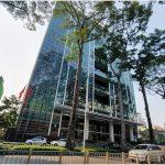 Mặt trước cao ốc cho thuê văn phòng Báo Sài Gòn Giải Phóng Building, Nguyễn Thị Minh Khải, Quận 3, TPHCM - vlook.vn