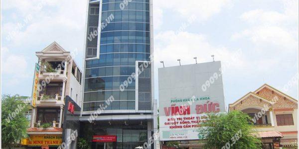 Cao ốc văn phòng cho thuê DQD Building Lê Trọng Tấn, Quận Tân Phú, TP.HCM - vlook.vn