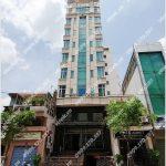 Mặt trước cao ốc cho thuê văn phòng NVG Office Building, Nguyễn Thị Giai, Quận 1, TPHCM - vlook.vn