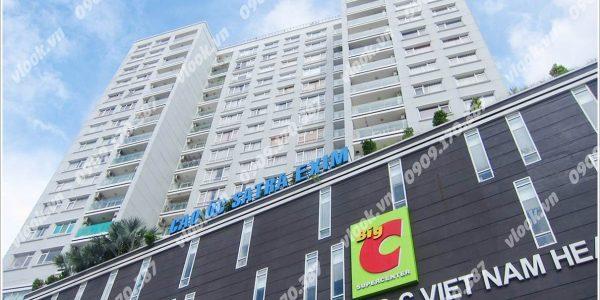 Cao ốc văn phòng cho thuê Satra Eximland Plaza Phan Đăng Lưu Phường 4 Quận Phú Nhuận TP.HCM - vlook.vn