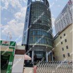 Mặt trước cao ốc cho thuê văn phòng SPT Building, Điện Biên Phủ Quận Bình Thạnh, TPHCM - vlook.vn