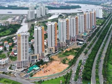 Cao ốc cho thuê văn phòng The Sun Avenue, Mai Chí Thọ, Quận 2, TPHCM - vlook.vn