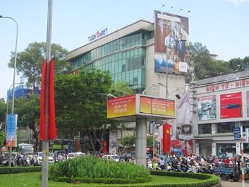 Cao ốc cho thuê văn phòng tòa nhà Tường Việt Building, Cách Mạng Tháng Tám, Quận 1 - vlook.vn