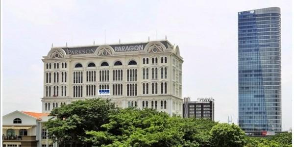 Cao ốc cho thuê văn phòng quận 7 tòa nhà Sài Gòn Paragon Building đường Nguyễn Lương Bằng