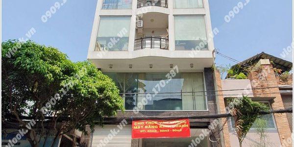 Mặt trước cao ốc cho thuê văn phòng A4 Building, Đường A4, Quận Tân Bình, TPHCM - vlook.vn