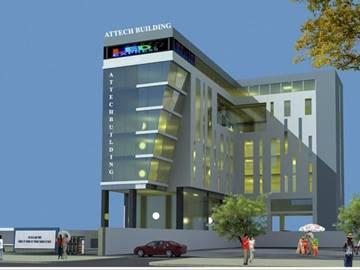 Cao ốc cho thuê văn phòng Attech Building, Trường Sơn, Quận Tân Bình - vlook.vn