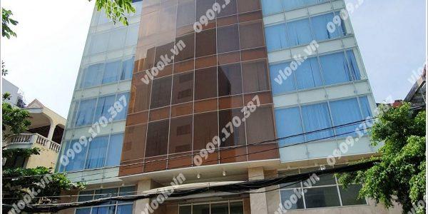 Mặt trước cao ốc cho thuê văn phòng Phù Đổng Building, Lê Trung Nghĩa, Quận Tân Bình, TPHCM - vlook.vn