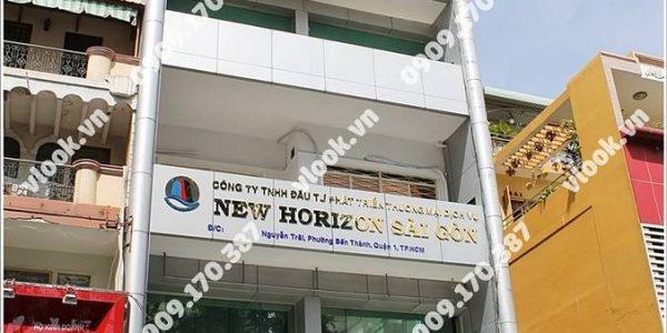 Văn phòng cho thuê New Horizon Saigon Building, Nguyễn Trãi, Quận 1, TP.HCM - vlook.vn