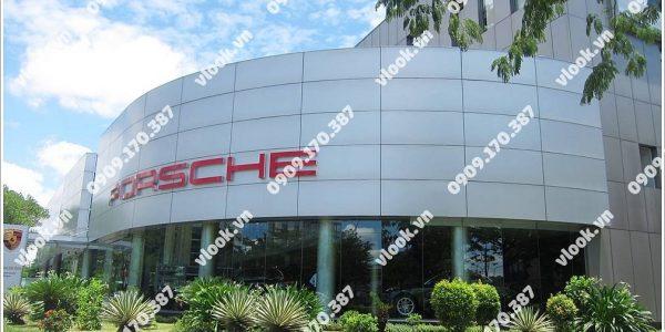 Văn phòng cho thuê Porsche Center Saigon (Porsche Building) Nguyễn Văn Linh, Quận 7