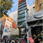 Mặt trước toàn cảnh oà cao ốc văn phòng cho thuê VVA Tower, đường Lý Tự Trọng, quận 1, TP.HCM - vlook.vn