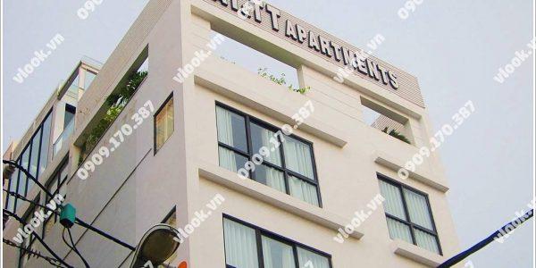 Toàn cảnh văn phòng cho thuê AT&TT Building Nguyễn Đình Chiểu, Quận 3.