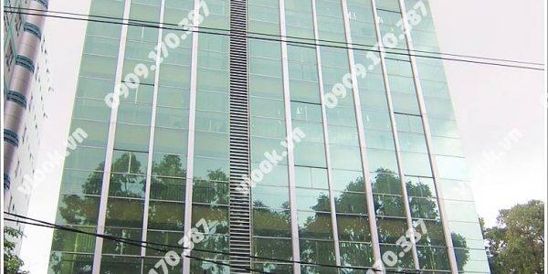 Nhìn toàn cảnh cao ốc văn phòng cho thuê Chubb Tower 2, Điện Biên Phủ,Quận 3 , Tp.HCM - vlook.vn