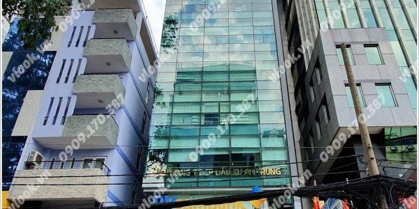 Mặt trước cao ốc cho thuê văn phòng Linco Building, Võ Văn Tần, Quận 3, TPHCM - vlook.vn