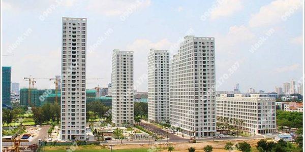 Cao ốc cho thuê văn phòng Happy Valley, Nguyễn Văn Linh, Phường Tân Phong, Quận 7 - vlook.vn