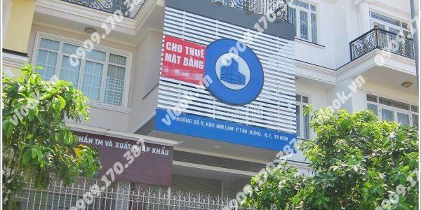 Cao ốc văn phòng cho thuê Blue House Building Đường số 9 Phường Tân Hưng Quận 7 TP.HCM - vlook.vn