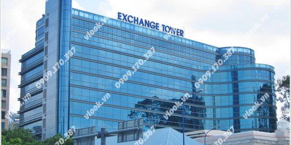 Cao ốc văn phòng cho thuê Exchange Tower Võ Văn Kiệt Nam Kỳ Khởi Nghĩa Phường Nguyễn Thái Bình Quận 1 TP.HCM - vlook.vn