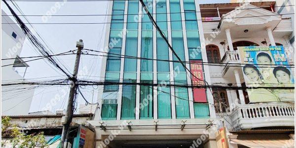 Mặt trước cao ốc cho thuê văn phòng Nam Hải Building, Lê Trung Nghĩa, Quận Tân Bình, TPHCM - vlook.vn