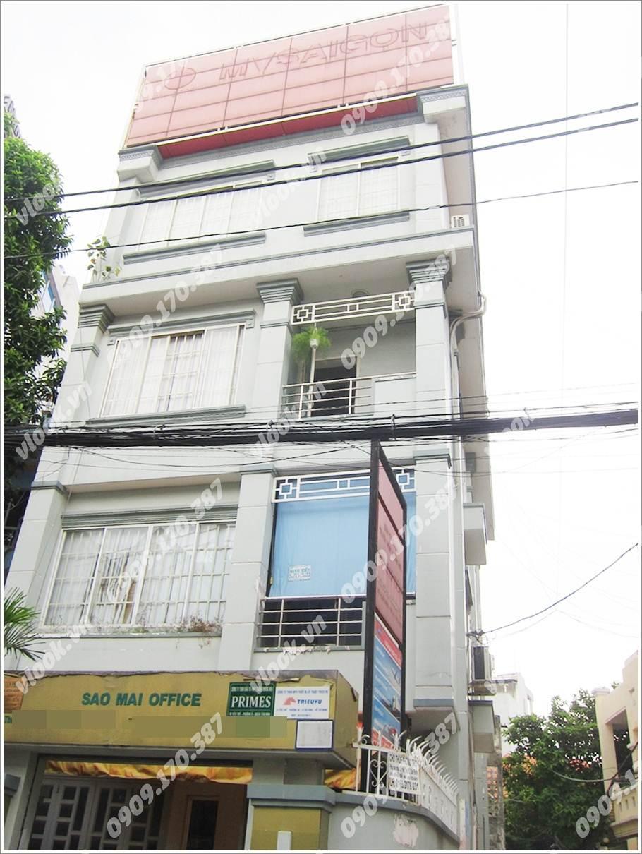 Cao ốc văn phòng cho thuê Sao Mai Office, Yên Thế, Phường 2 Quận Tân Bình TP.HCM - vlook.vn
