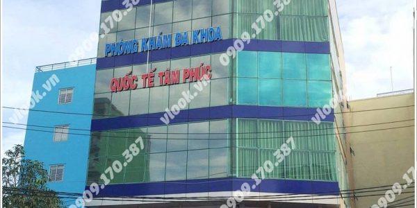 Cao ốc cho thuê văn phòng Tâm Phúc Building Phường 26 Quận Bình Thạnh TP.HCM - vlook.vn