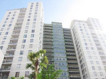 Nhìn toàn cảnh cao ốc văn phòng cho thuê Botanic Tower Nguyễn Thượng Hiền Phường 5 Quận Phú Nhuận - vlook.vn
