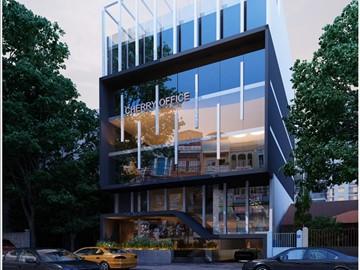 Cao ốc cho thuê văn phòng Cherry Office Building, Đường C22, Quận Tân Bình - vlook.vn