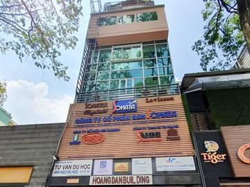 Cao ốc cho thuê văn phòng Hoàn Đan Building, Điện Biên Phủ, Quận 3, TPHCM - vlook.vn