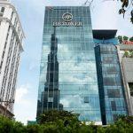 Mặt trước toàn cảnh oà cao ốc văn phòng cho thuê Hưng Bình Tower, đường Ung Văn Khiêm, quận Bình Thạnh, TP.HCM - vlook.vn