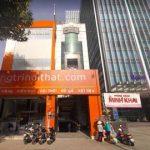 Cao ốc cho thuê văn phòng SCB Building Nguyễn Thị Minh Khai Phường 5 Quận 3 TPHCM - vlook.vn