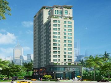 Cao ốc văn phòng cho thuê tòa nhà Trung Đông Plaza, Trịnh Đình Thảo, Quận Tân Phú, TPHCM - vlook.vn